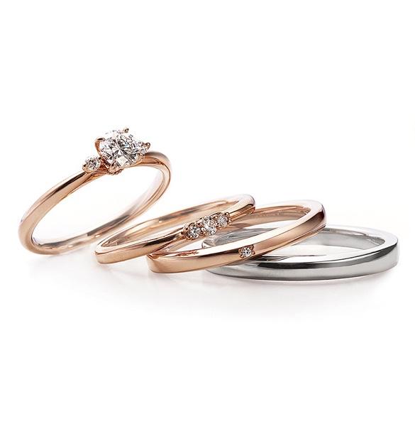 ブライダルリング 婚約指輪 結婚指輪 エンゲージ リングローズ クラシック・ロズレ