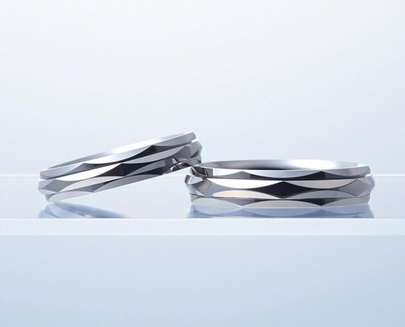 ブライダルリング 結婚指輪 マリッジリング N.Y.NIWAKA リューズ