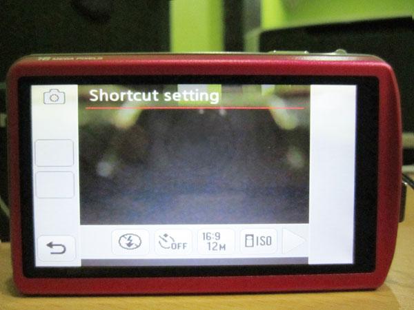 shortcut setting