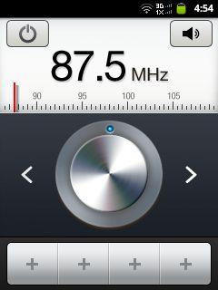 samsung galaxy y radio