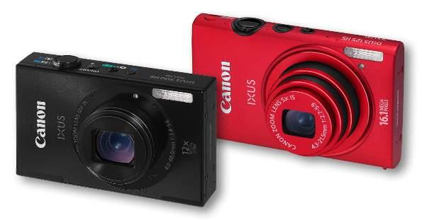 [CES 2012] Canon IXUS 500HS & IXUS 125 HS: Duet Kamera Tipis, Stylish dan Handal 1
