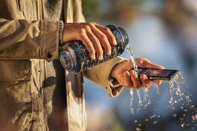 Kotor? Cuci langsung dengan air