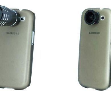 Samsung Galaxy S III lens