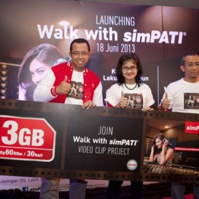 Dukung Semangat Muda Telkomsel Hadirkan Walk With simPATI 1