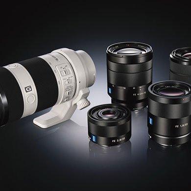 sony FE lens 1