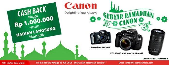 Promosi Kamera Aksesori Fotografi Selama Lebaran 2014