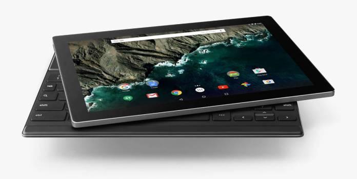 Google Pixel C tablet keyboard 1