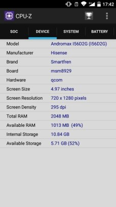 Andromax R2 CPU-Z (2)