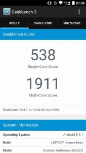 Andromax R2 Geekbench