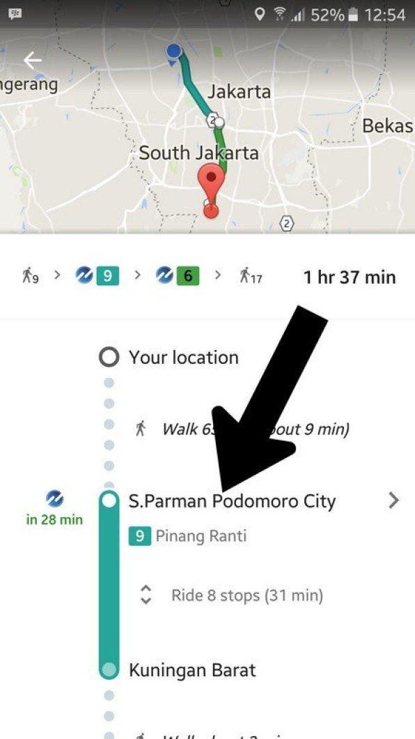 Google Maps bus TransJakarta (5)