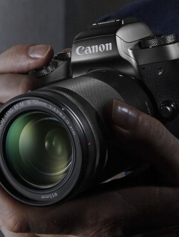 Canon EOS M5 with 18 150mm Lens 6 1473842237
