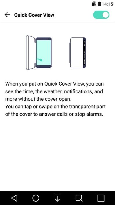 LG X Power Quick Cover
