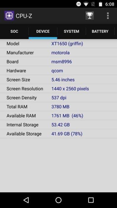 Moto Z CPU Z (2)