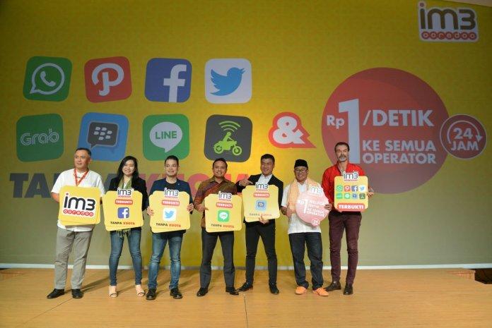 Indosat IM3 Ooredoo Berikan Tarif Nelpon Rp1/Detik dan Akses Gratis Aplikasi Populer Tanpa Potong Kuota Data 1