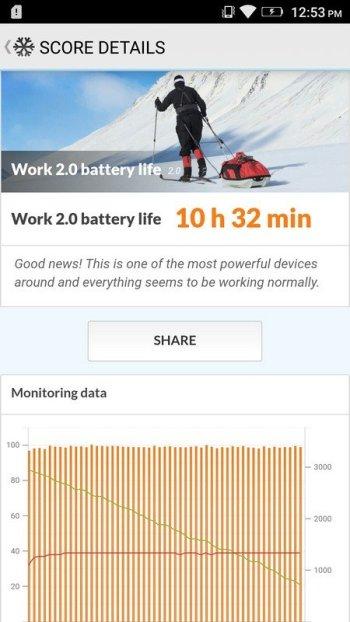 Lenovo K6 Note PCMark Battery Test (1)