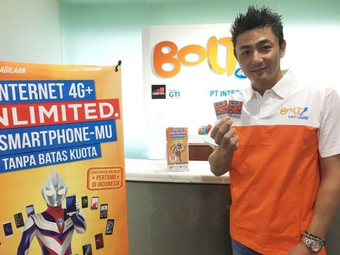 Bolt Rilis Kartu Perdana Prabayar dengan Internet Unlimited untuk Smartphone