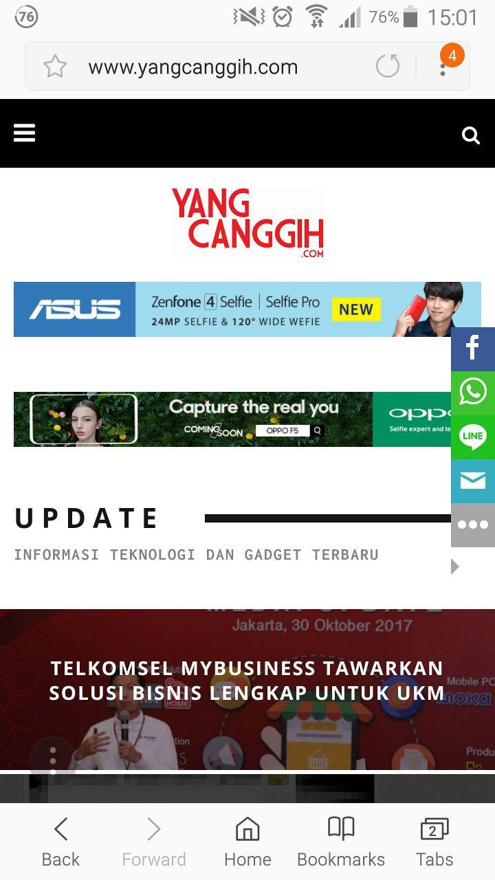 Browser Samsung Internet Kini Tersedia untuk Seluruh