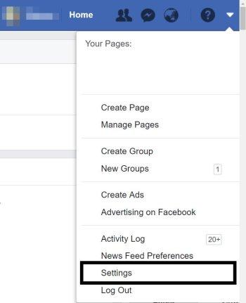 Cara mengganti Username di Facebook terbaru