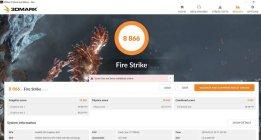 Dell Inspiron 15 7577 FireStrike