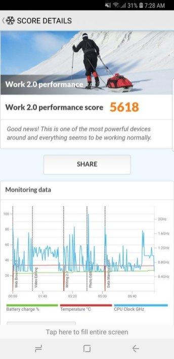 Galaxy S9+ PC Mark (1)