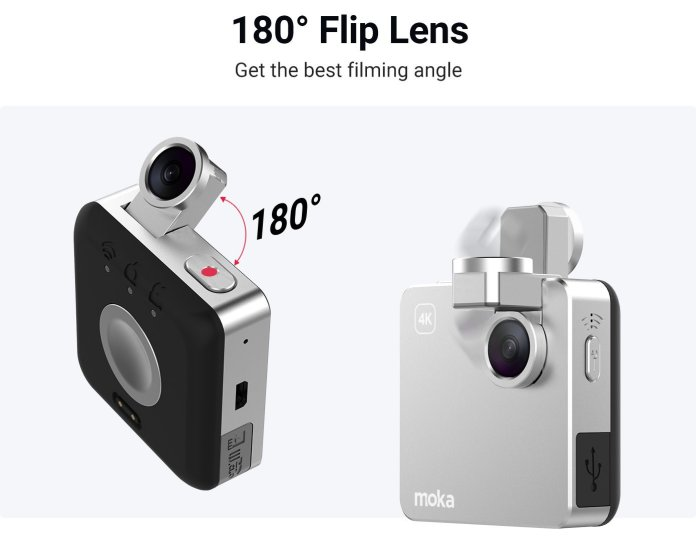 Mokacam Snap: Kamera Aksi 4K Terkecil di Dunia 3