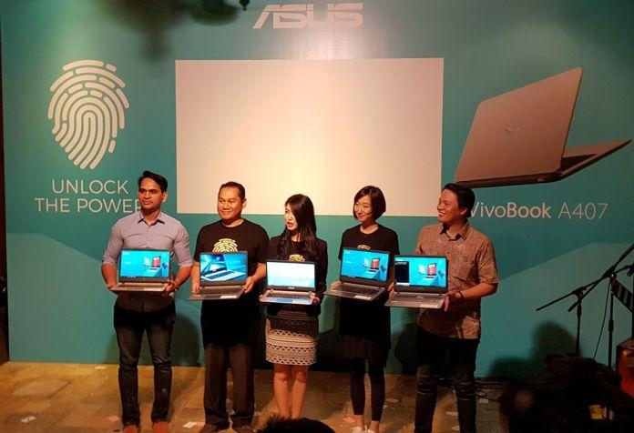 Asus Luncurkan VivoBook A407, Laptop Mainstream dengan Core i3 dan Fingerprint Scanner 1