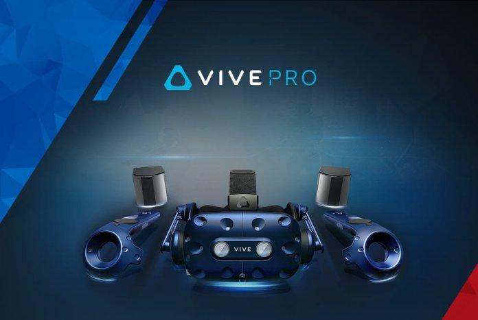 HTC VIVE Pro Full Kit, Perangkat Lengkap VR Dengan SteamVR 2.0 Base Station & Pro Controller 2