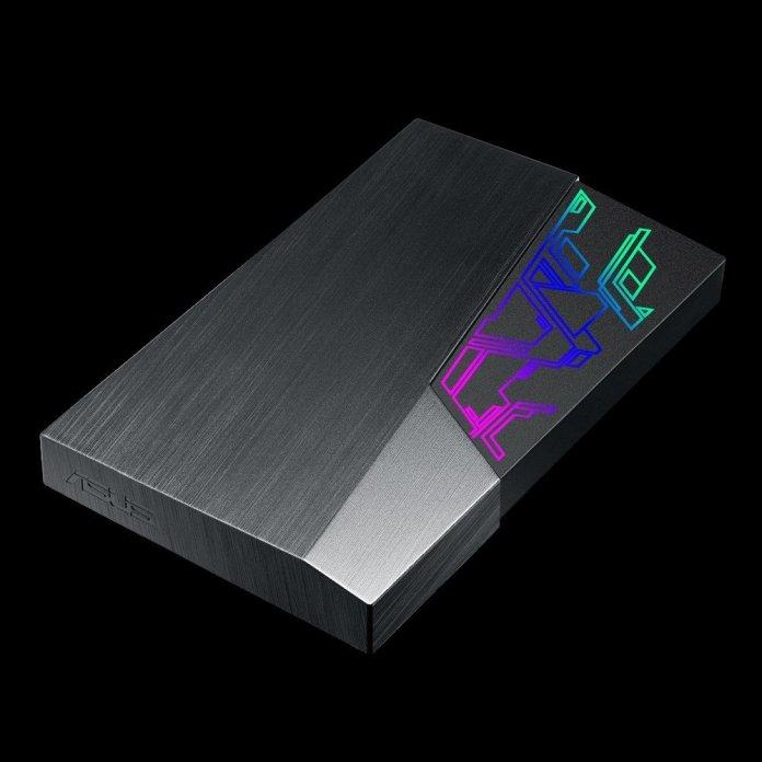 ASUS Luncurkan ASUS FX HDD, External Hard Drive Pertama Dengan Hiasan Cahaya RGB 1