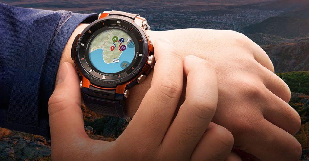 IFA 2018  Casio PRO TREK Smart WSD F-30  Smartwatch Tangguh dengan ... 188d4b6f1f
