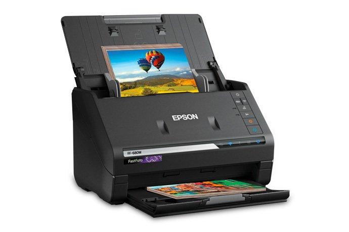 Epson FastFoto FF-680W: Bisa Pindai Foto dengan Kecepatan 1 Foto Per Detik