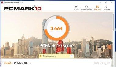 pc mark10 ASUS zenbook UX433F-1