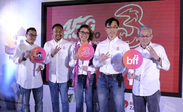 3 Indonesia Gelar Program Ramadan Dobel Berkah untuk Wujudkan Semangat Wirausaha dan Berbagi Kebaikan 1