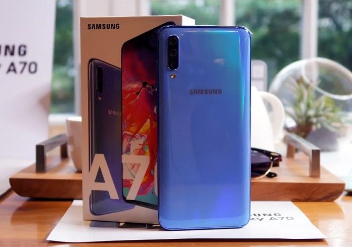 Hadir di Indonesia, Samsung Galaxy A70 Dijual dengan Harga 5,8 Juta Rupiah 2