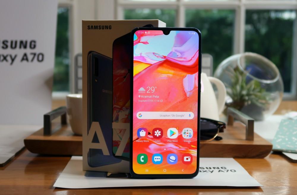 Galaxy A70 Indonesia 4