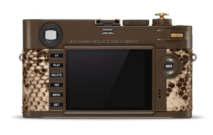 Leica M Monochrom Drifter Set: Bodi Berlapis Kulit Ular Piton, Terbatas Hanya 125 Unit 4