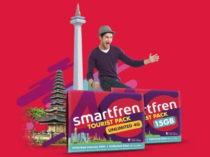 Smartfren Luncurkan Kartu Perdana Tourist Pack untuk Wisatawan Mancanegara 1