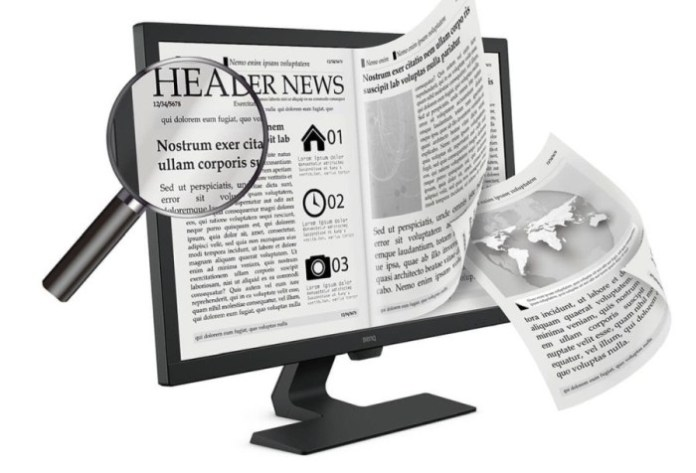 BenQ GL2780: Bawa Mode E-Paper Untuk Pengalaman Membaca yang Lebih Nyaman di Mata 1
