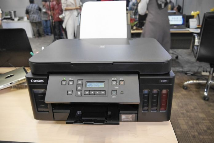 Datascrip Hadirkan Solusi Hemat Cetak Banyak Lewat Canon PIXMA Ink Efficient G6070, G5070, GM2070 dan Pixma TS707 2