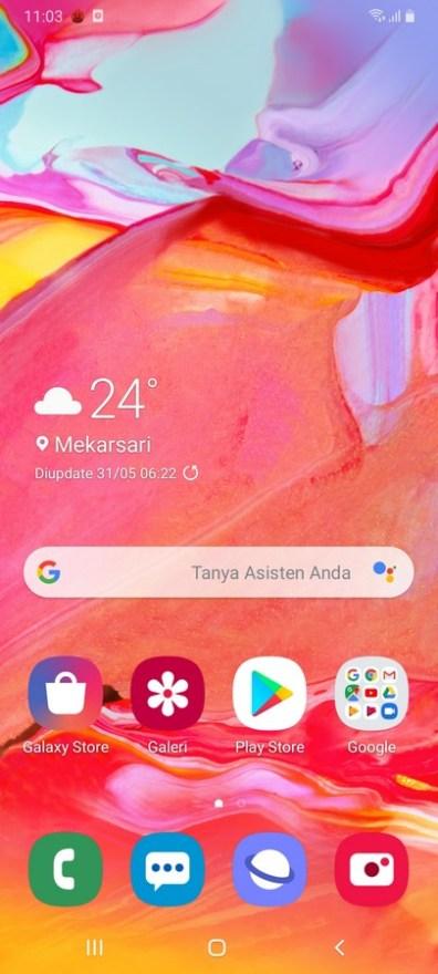 Galaxy A70 OneUI (1)