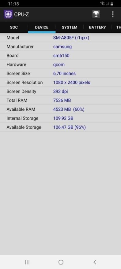 Galaxy A80 CPU Z (2)
