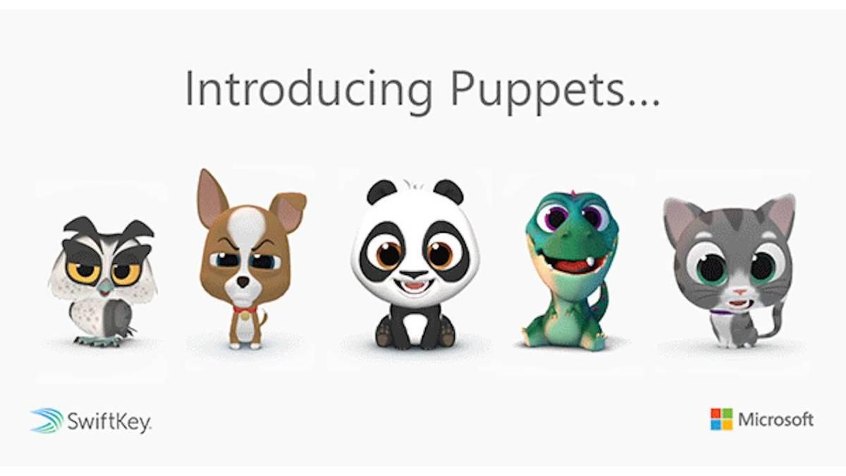 SwiftKey Puppets: Alternatif Animoji Untuk Smartphone Android 16 harga, spesifikasi, Swiftkey, swiftkey puppets