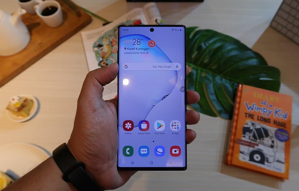 [Hands-On] Kesan Pertama Menggenggam Samsung Galaxy Note10 dan Galaxy Note10+ 13