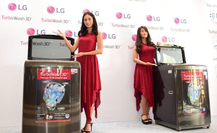 LG Hadirkan TurboWash 3D, Solusi Cuci Baju Cepat dan Hemat Energi 3