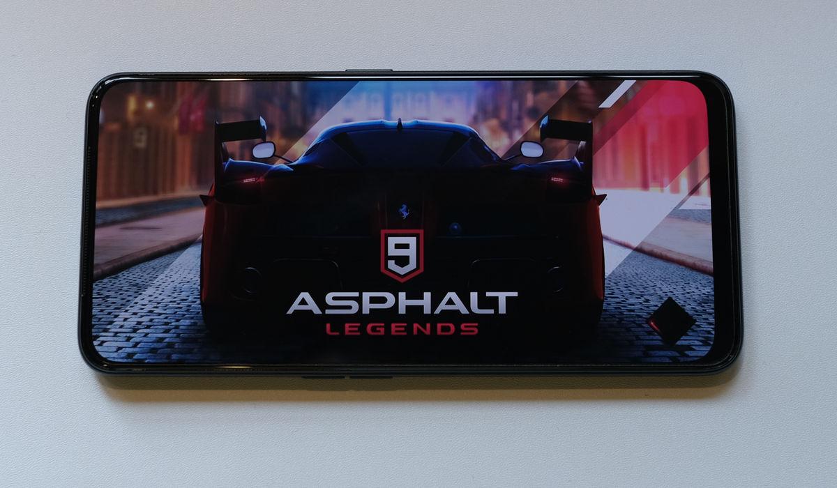 OPPO Reno 2F gaming asphalt