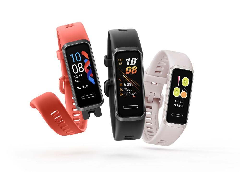 Meluncur di Indonesia, Huawei Band 4 Dijual dengan Harga 400 Ribuan Rupiah 16 gelang kebugaran, Huawei, Huawei Band 4, smartwatch