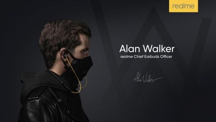 Gandeng Alan Walker, realme Buds Wireless Siap Meluncur di Indonesia