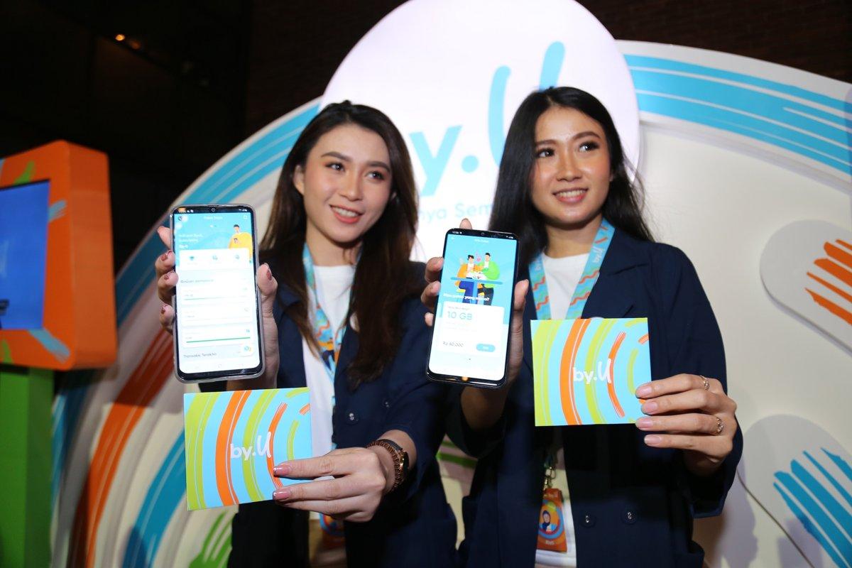 Telkomsel Luncurkan by.U, Layanan Selular Prabayar Digital untuk Generasi Muda 18 Aplikasi, by.U, paket data, perdana, Telkomsel