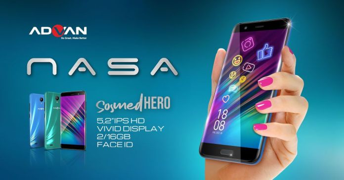 ADVAN NASA, Smartphone 700 Ribuan dengan Layar IPS Untuk Para Pecinta Sosial Media 16 advan, advan nasa, harga, spesifikasi