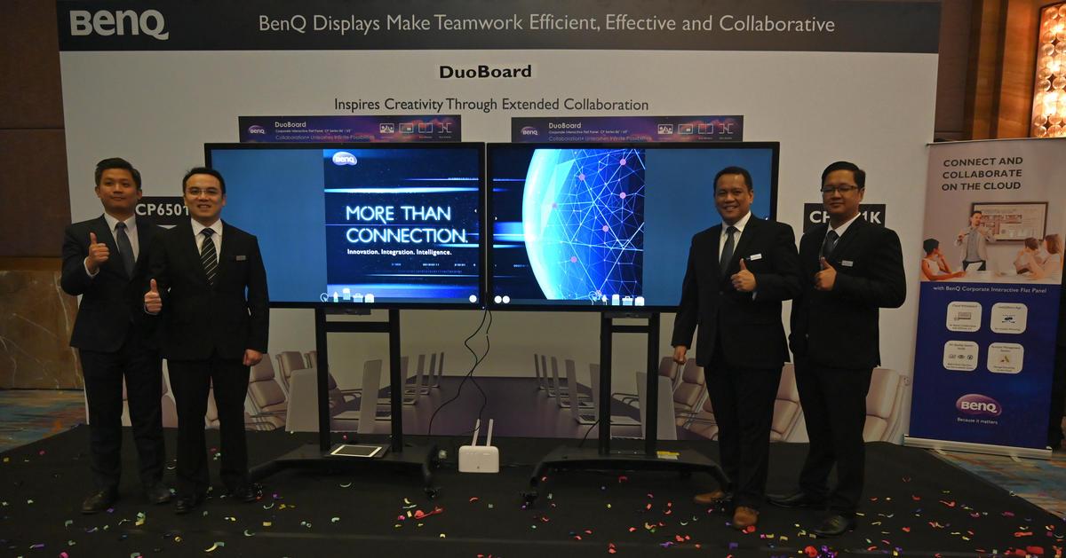 BenQ Hadirkan Smart Projector & DuoBoard Interactive Flat Panel untuk Sektor Bisnis & Edukasi 13