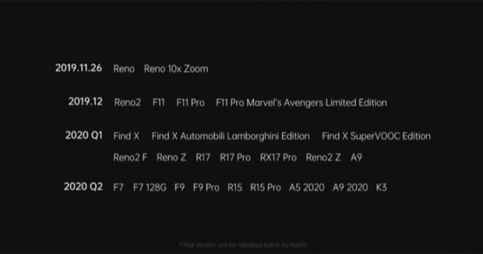 ColorOS 7: Update OS Paling Besar dari OPPO, Mencakup Hingga OPPO F7
